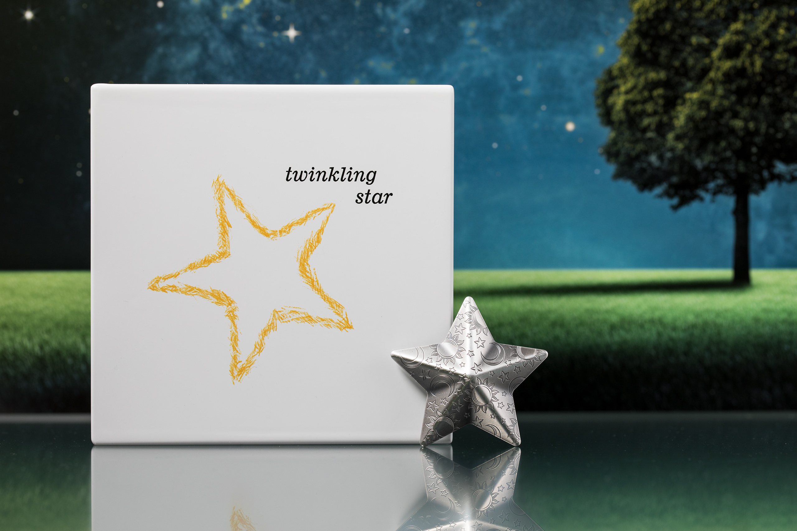 Funkelnder Stern